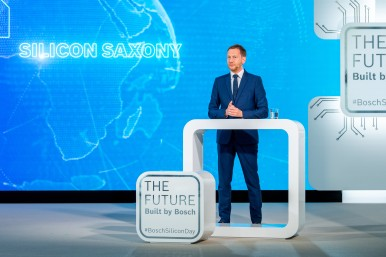 Bosch opens chip factory of the future in Dresden: Michael Kretschmer, Minister- ...