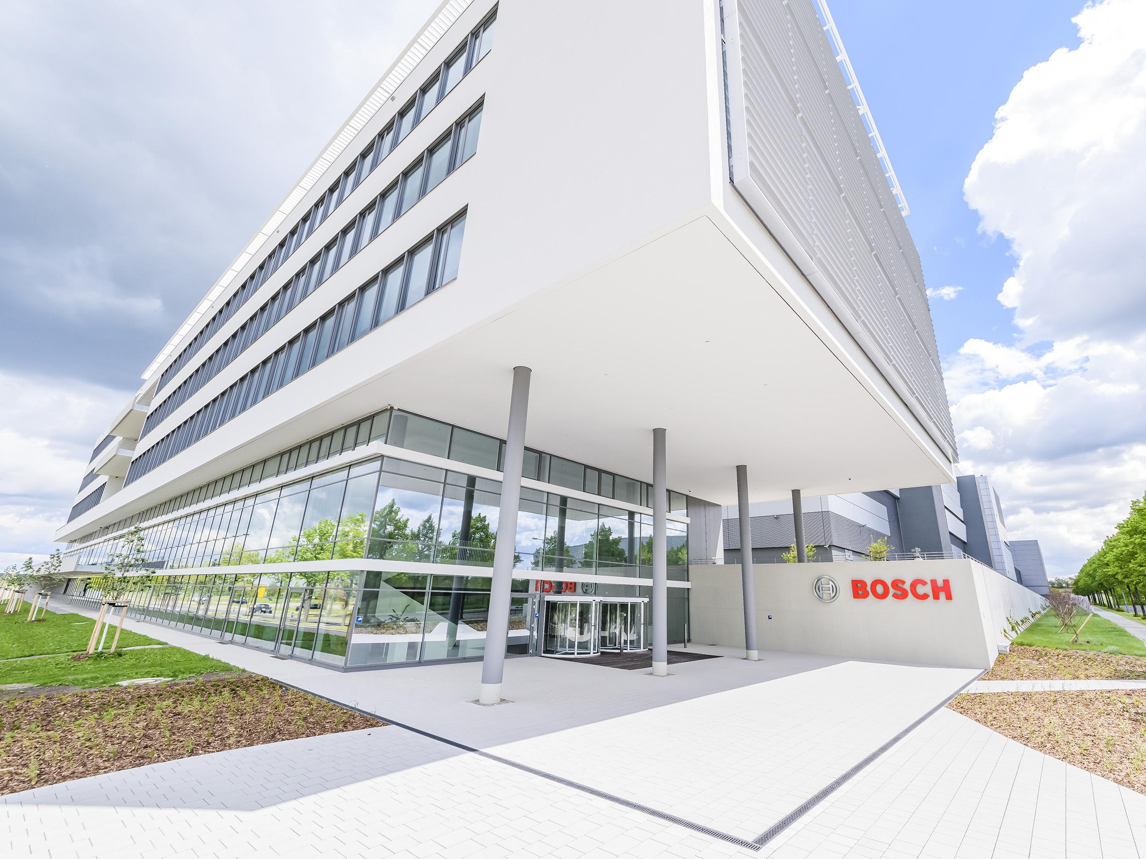 Neues Bosch Halbleiterwerk in Dresden