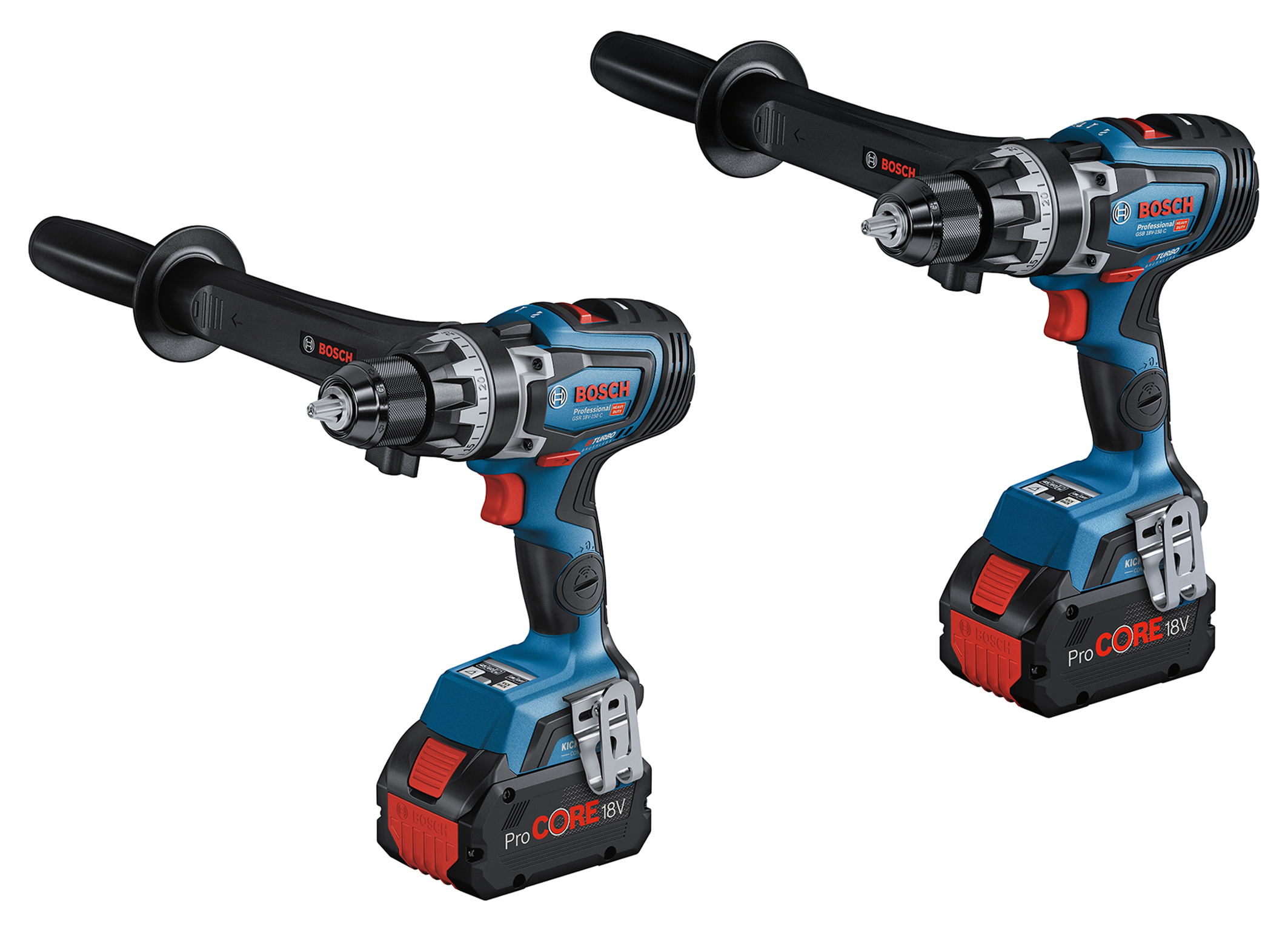 Cordless tools in a new performance dimension: First Biturbo drill drivers from Bosch for pros