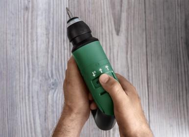 Innovative operating concept makes DIY easy: Bosch EasyHammer 12V for many materials