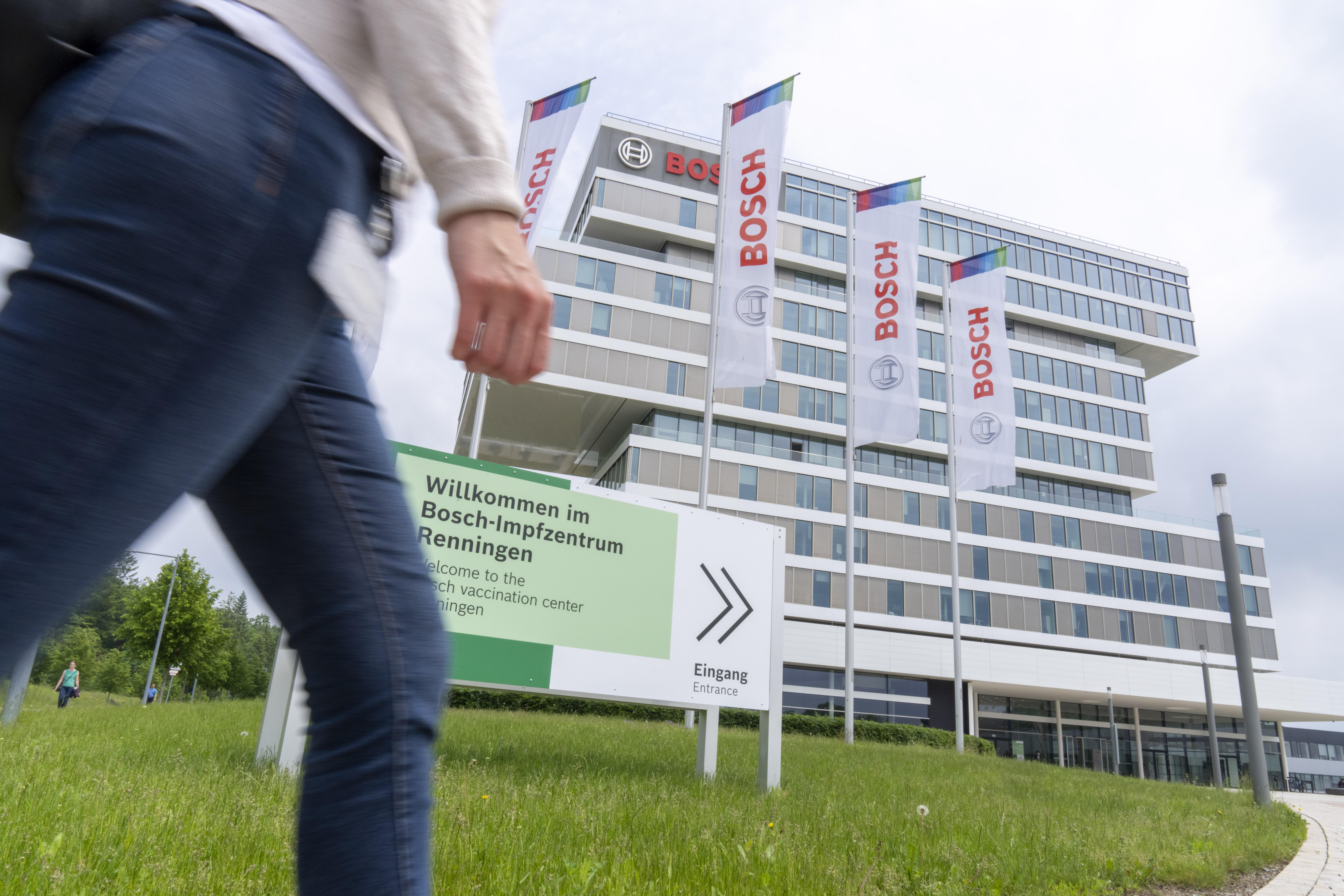 Bosch betreibt Covid-19 Impfzentrum auf dem Gelände seines Forschungscampus