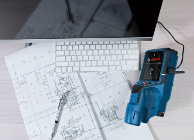 Documentation via a screenshot and data transmission to a PC: The Bosch D-tect 2 ...