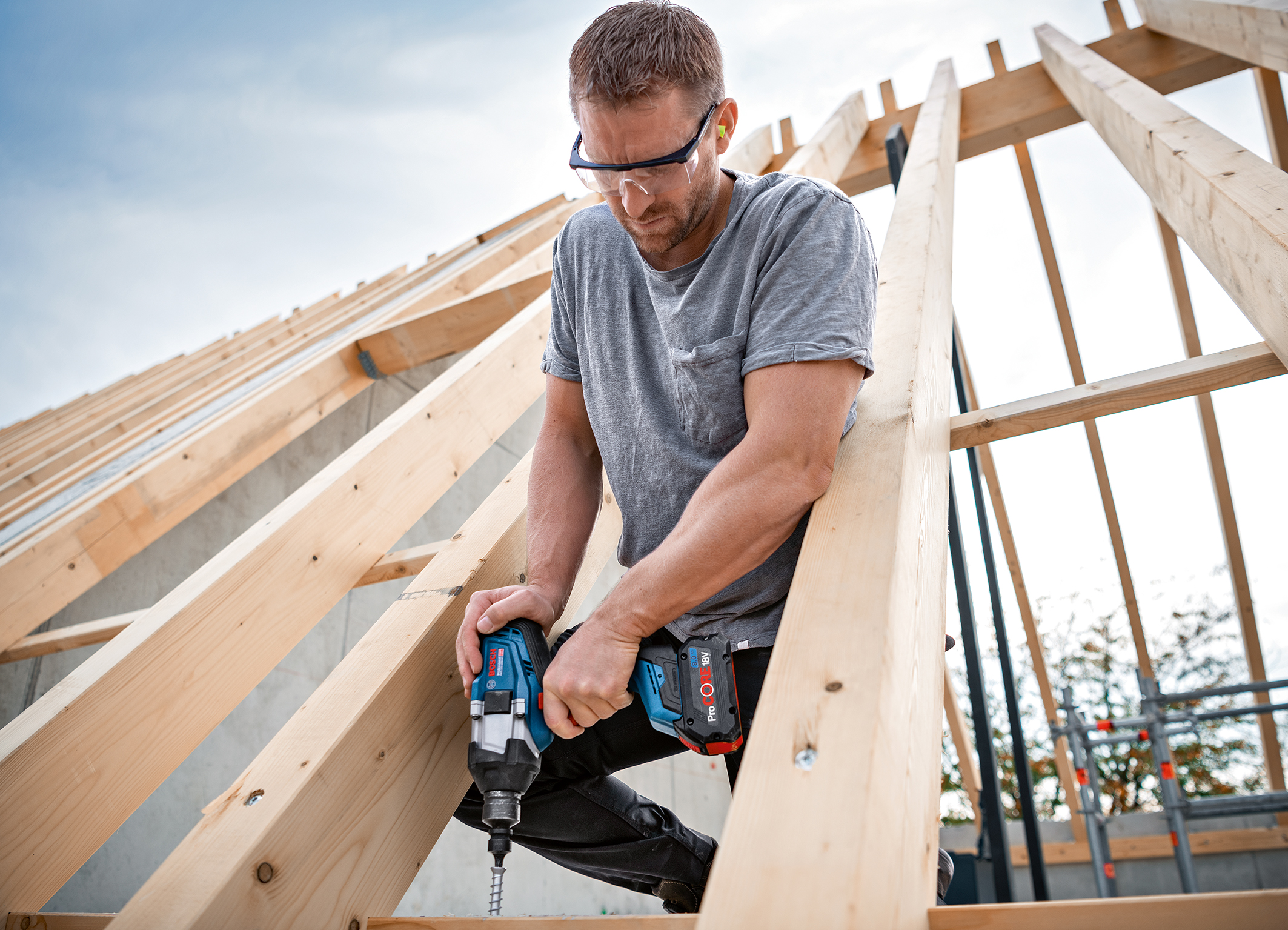 Added value through configurable wood mode: Biturbo impact wrenches from Bosch for pros