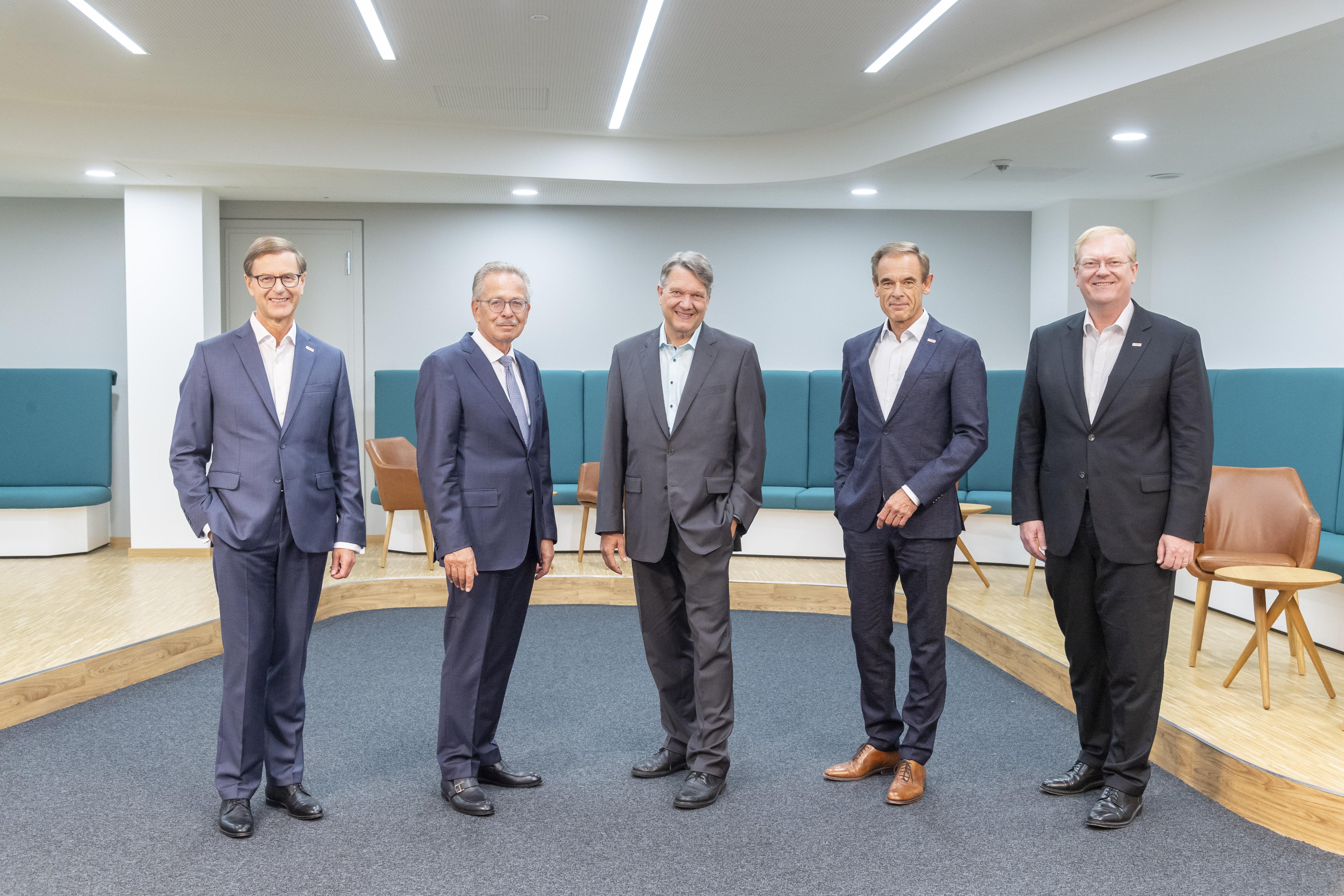 Personelle Veränderungen bei der Robert Bosch GmbH und der Robert Bosch Industrietreuhand KG