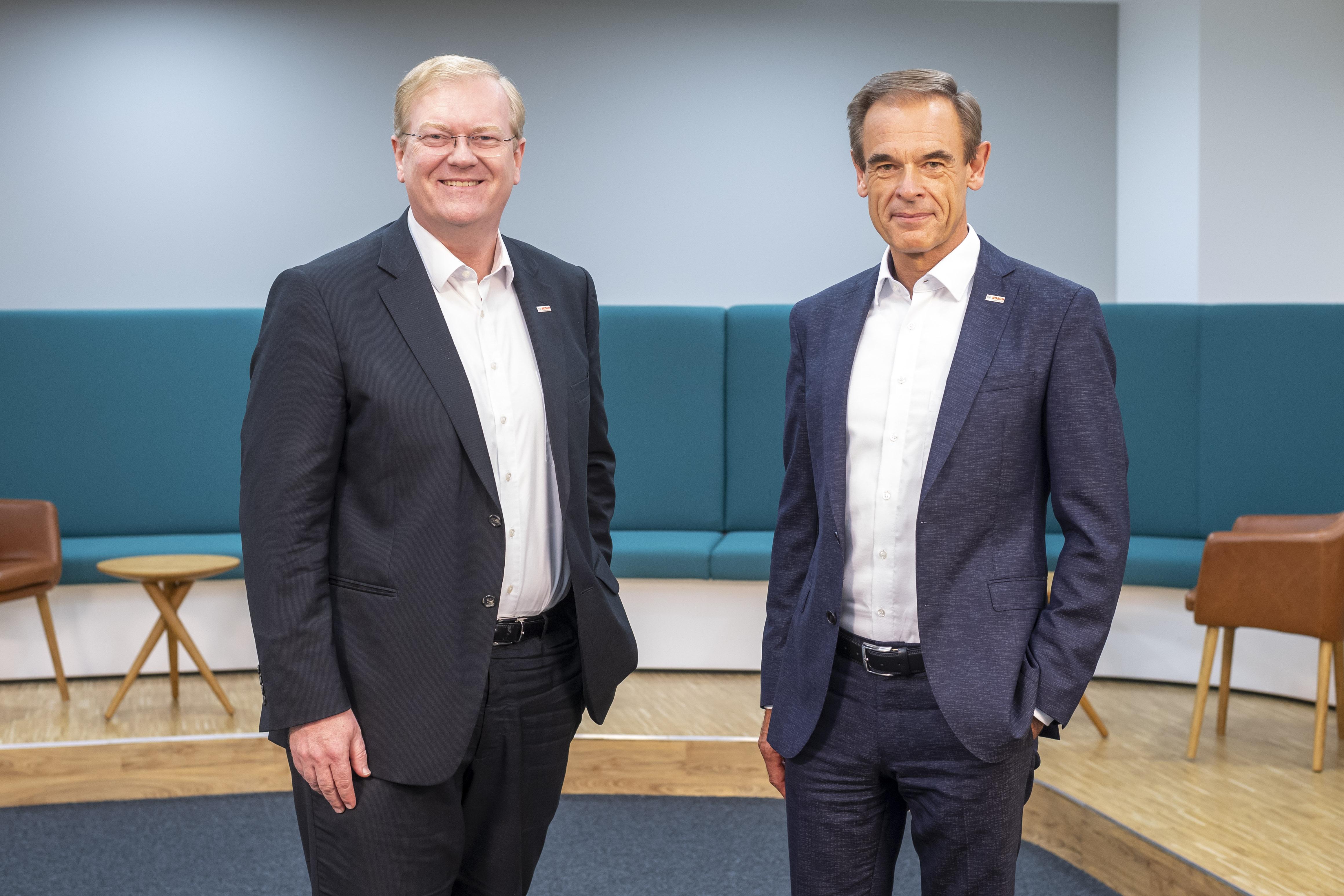 Personelle Veränderungen bei der Robert Bosch GmbH