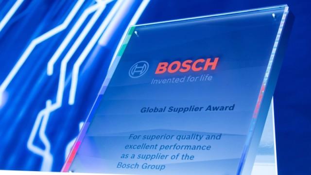 Bosch Global Supplier Award 2021