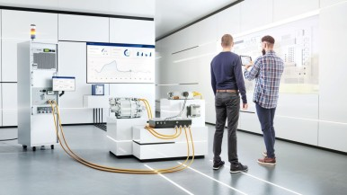 Efficiently testing power electronics of e-vehicles