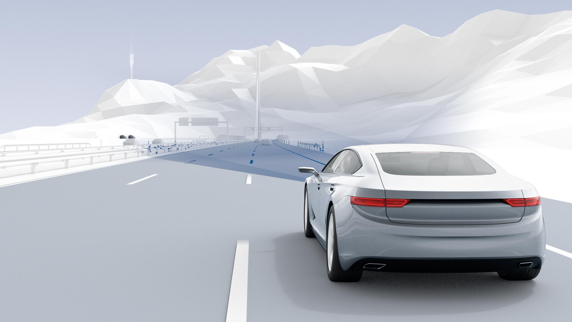 Mehr Verkehrssicherheit mit der Bosch Straßensignatur