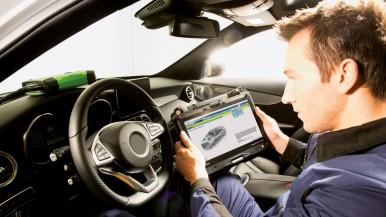 Centrální přístup k zabezpečeným datům vozidla pomocí Secure Diagnostic Access ( ...