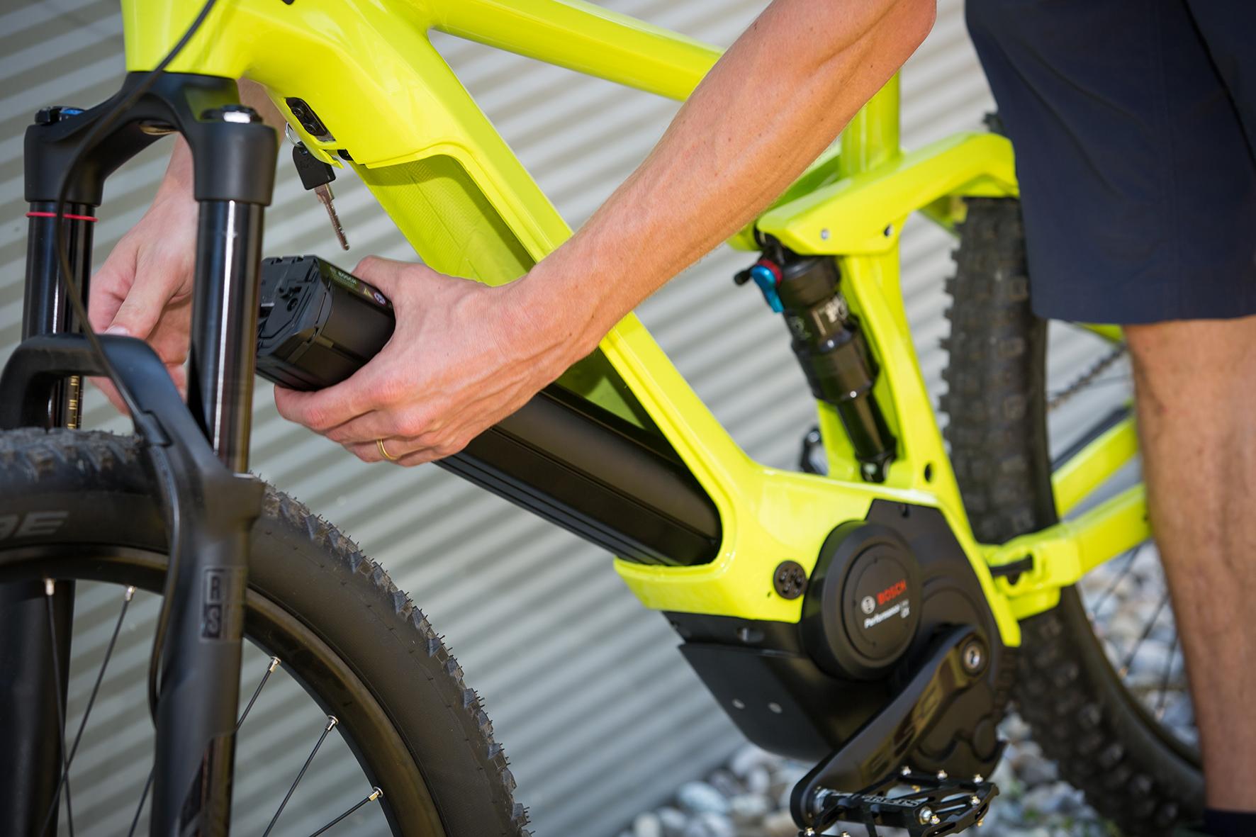 E-Bike-Akkus von Bosch