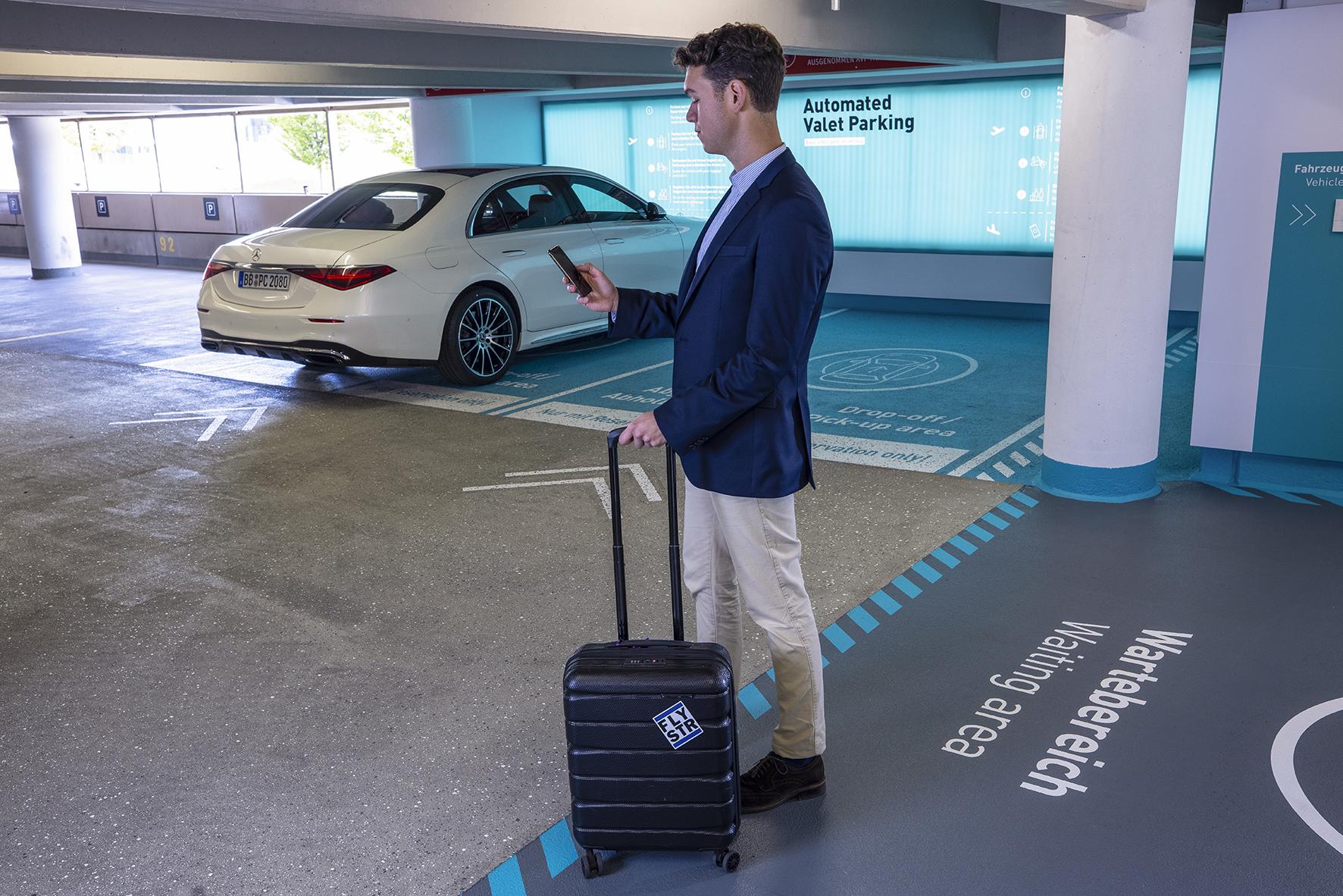 Driverless parking