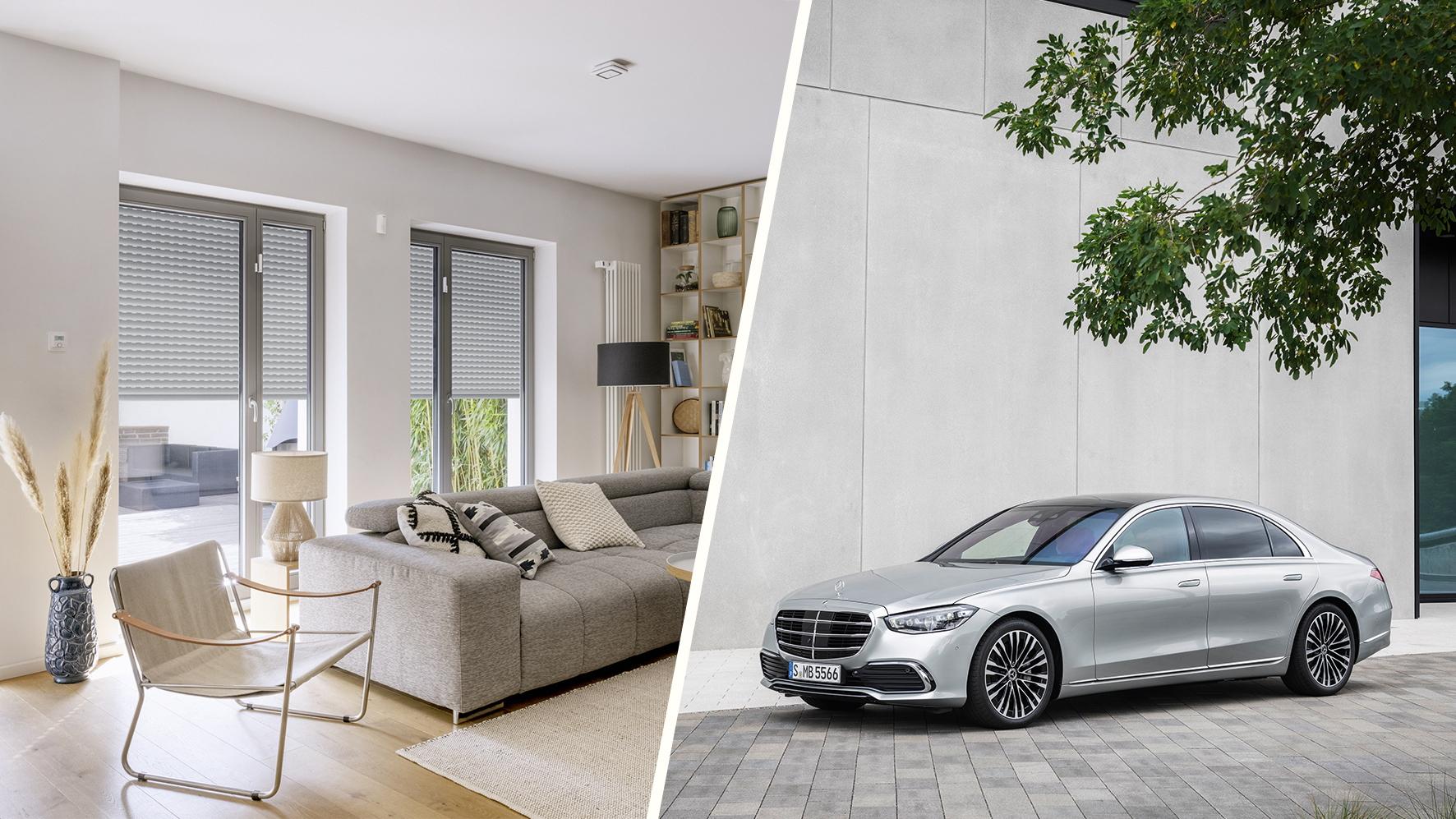 Smart car meets smart home