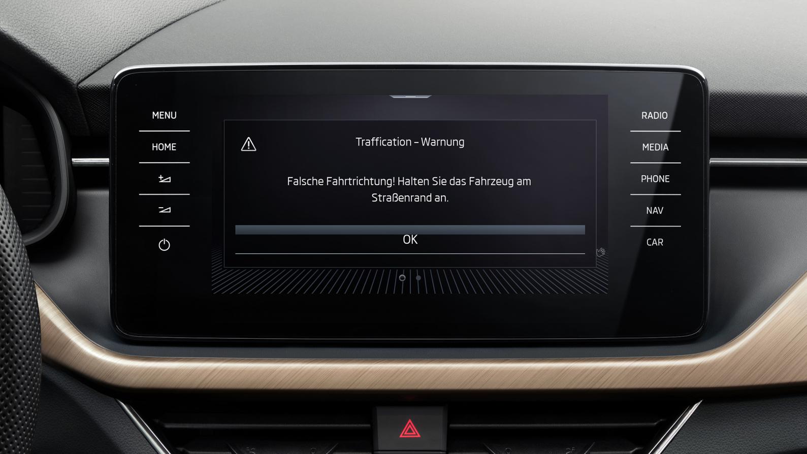 Cloud-based wrong-way driver warning system