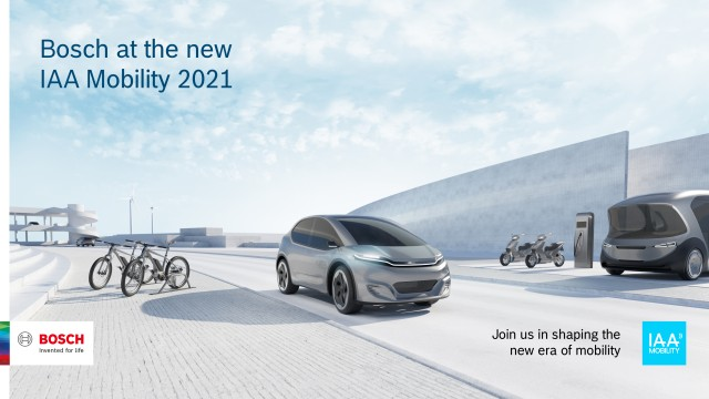 Bosch IAA Mobility 2021
