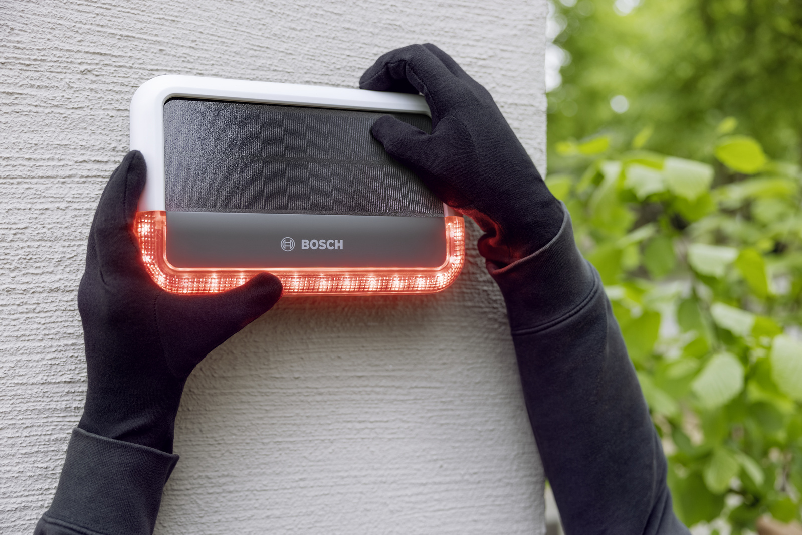 The new outdoor siren from Bosch Smart Home