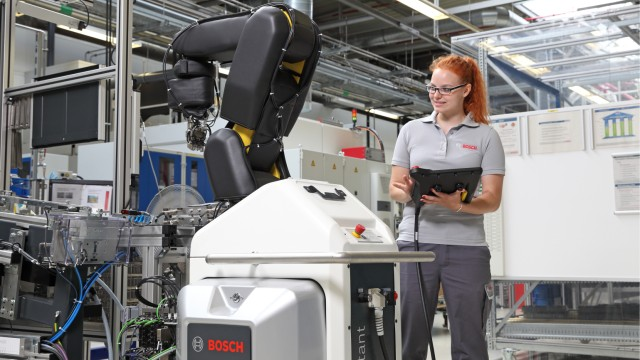 Skilled workers for Industry 4.0