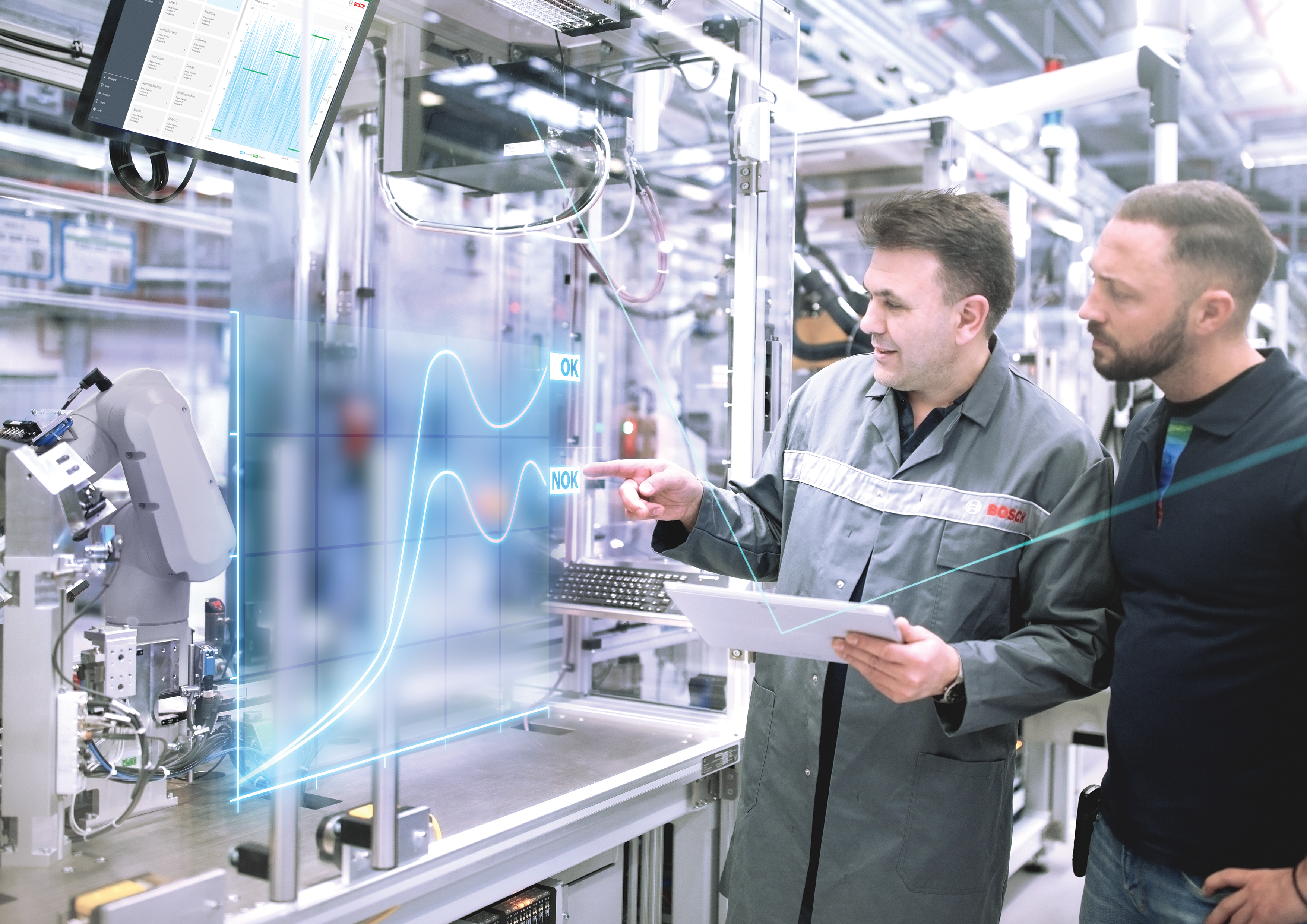 Bosch opens its factory gates: with Industry 4.0 guided tours