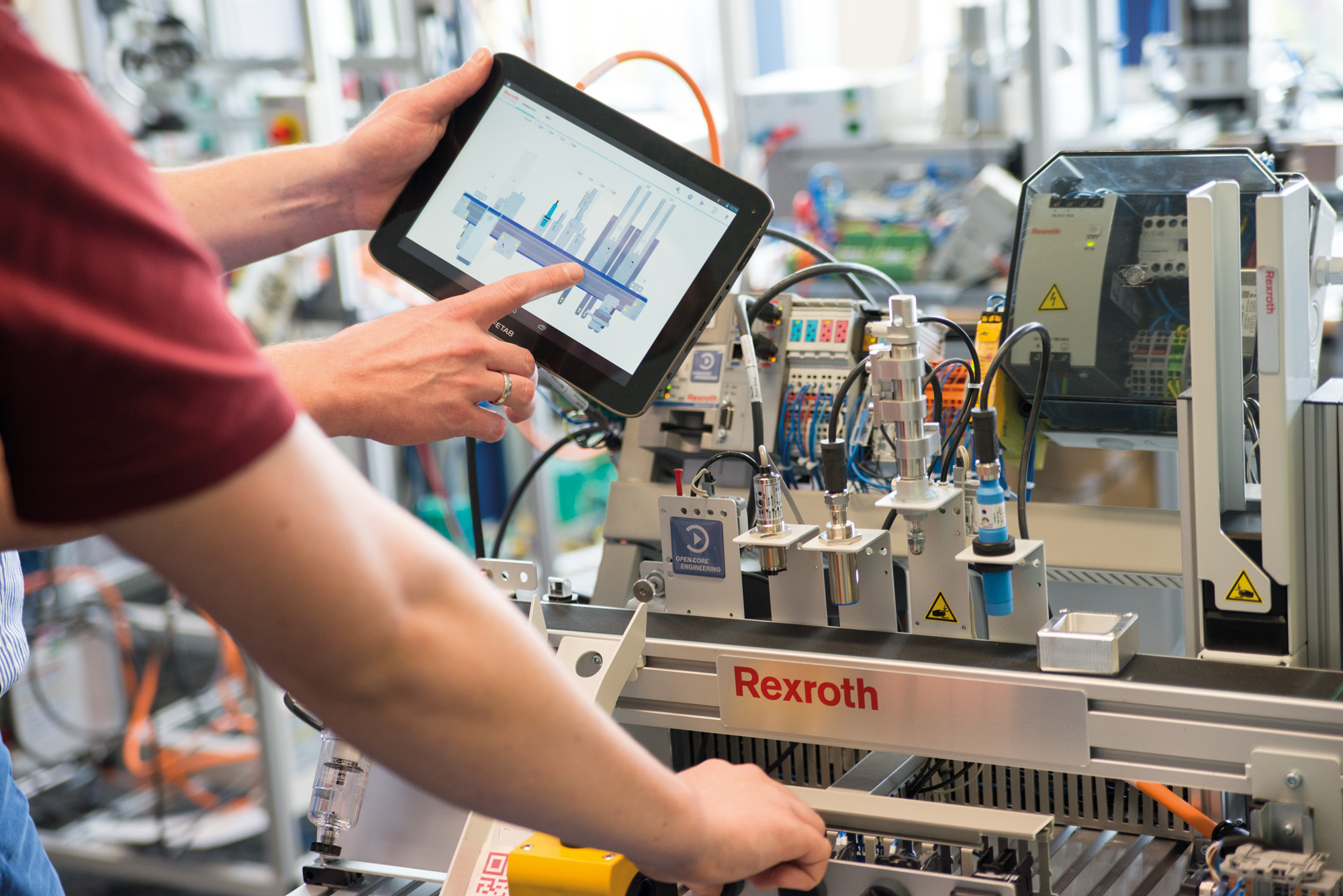 Training systems for Industry 4.0