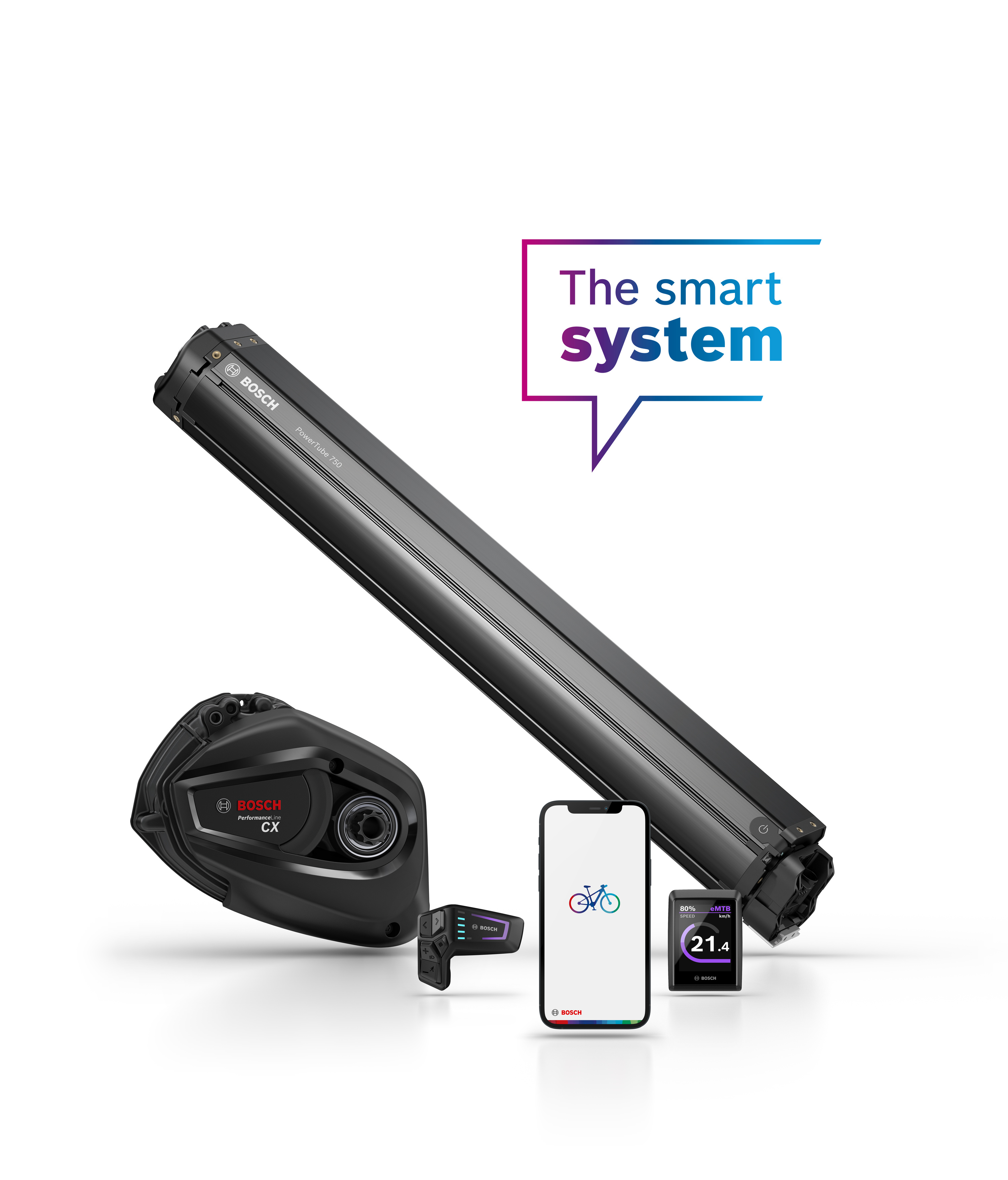 The smart system by Bosch eBike Systems