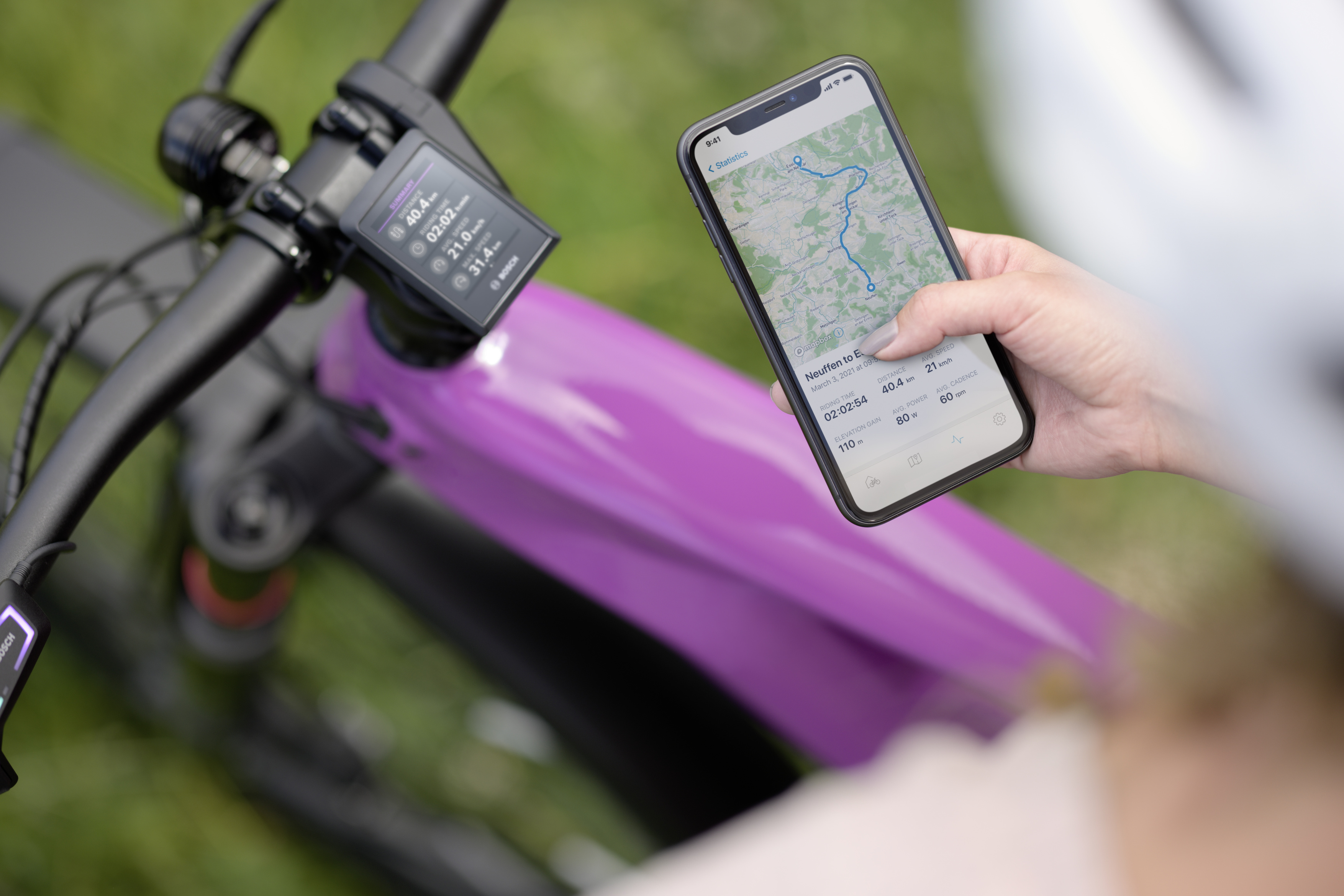 Smart, forward-looking and customisable: The eBike Flow app