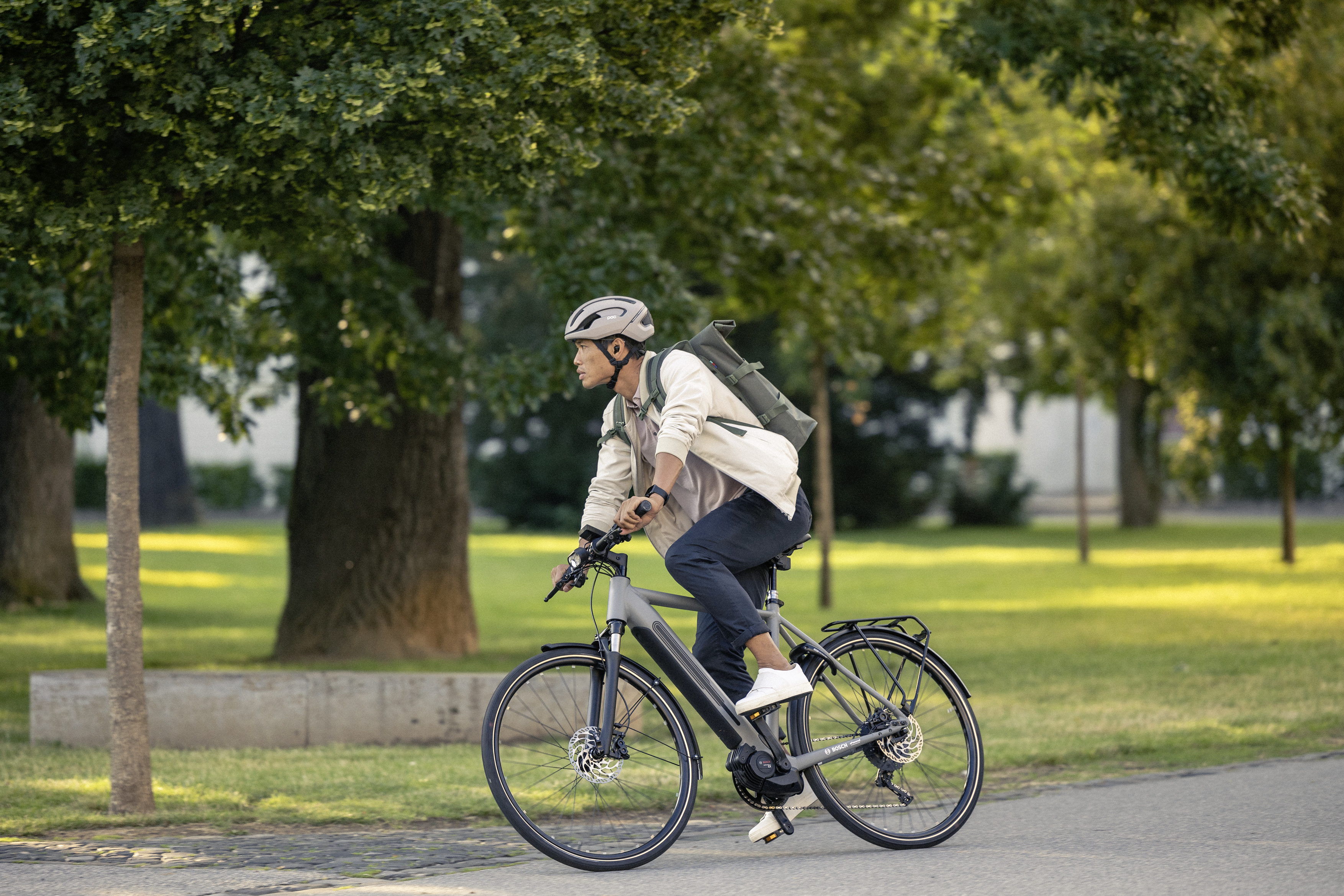 eBikes relieve traffic and reduce the burden on the environment.
