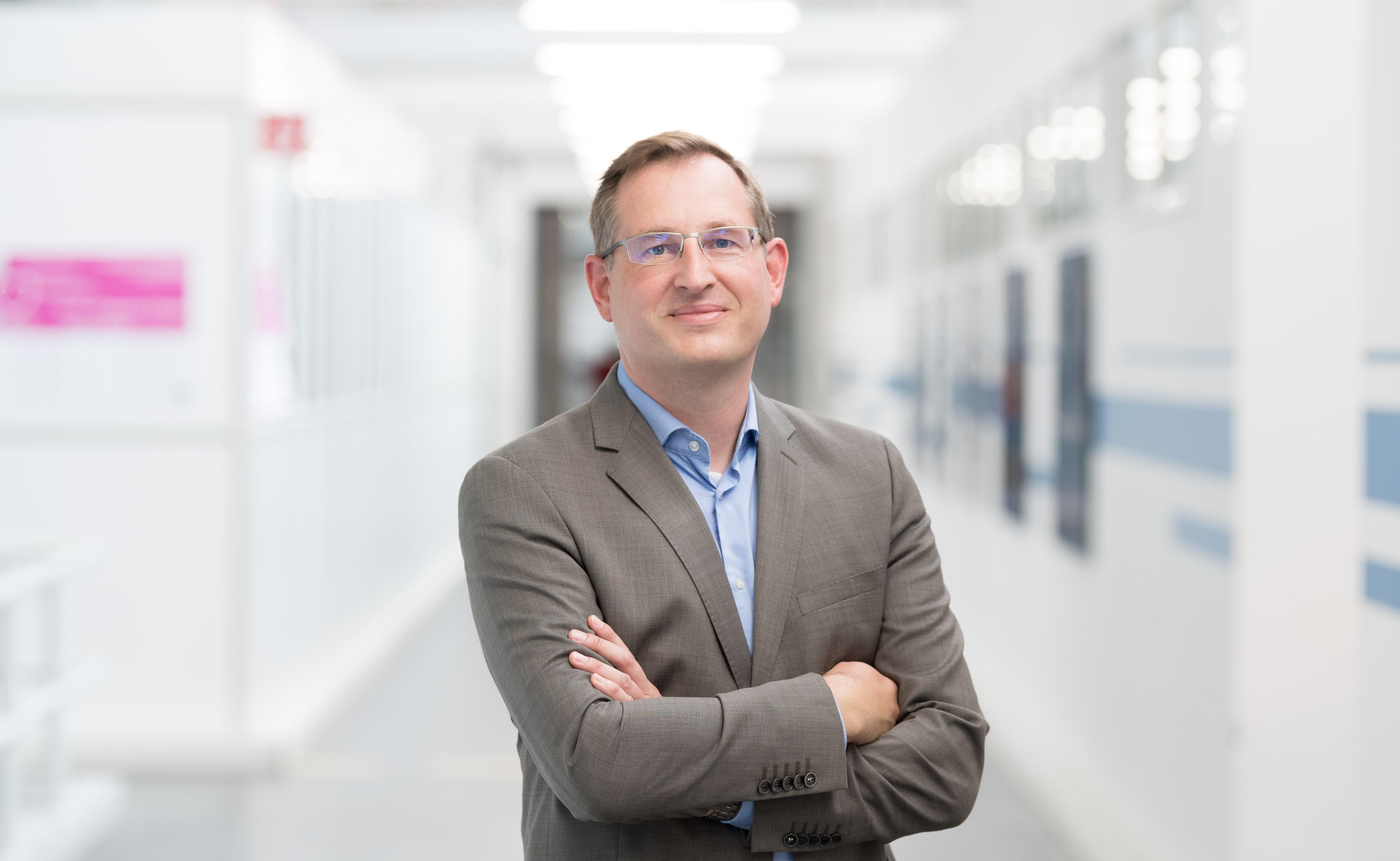 Sven Hamann, Geschäftsführer von Bosch Connected Industry