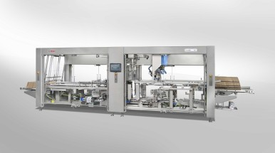 Quick and easy changeovers of case packing formats with Bosch technology