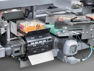 New developed collation platform for case packer