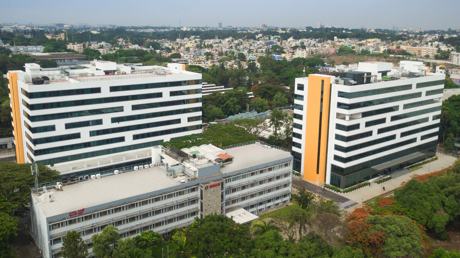 Expansion of Bosch development center in India: two new buildings inaugurated