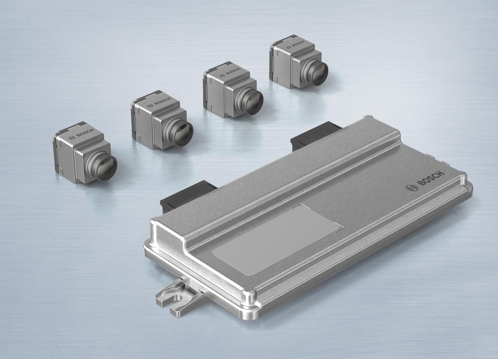 Nahbereichskamera-Systeme von Bosch