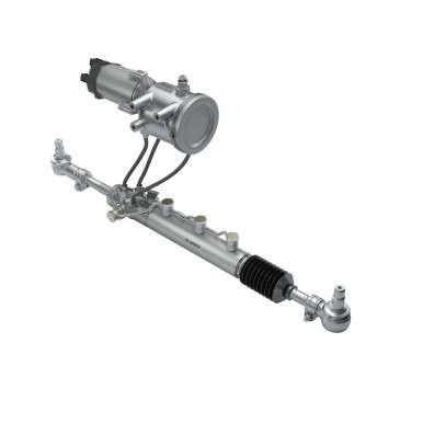 eRAS, the electric Rear Axle Steering system