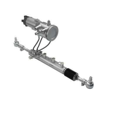 Die elektro-hydraulische Hinterachs-Lenkung eRAS (electric Rear Axle Steering System)