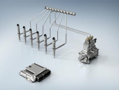 The sophisticated common-rail system for commercial vehicles