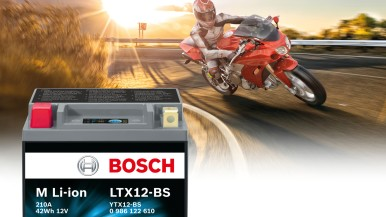 M Li-ion: New powerful Bosch two-wheeler battery with lithium-ion technology