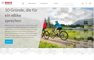 Bosch eBike Systems stellt sich online neu auf