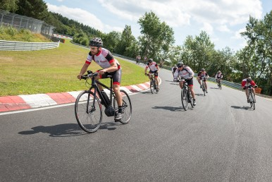 eBikes on the Nürburgring