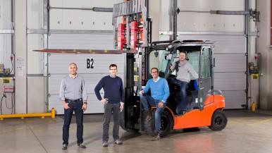 Bosch und SAP vernetzten Gabelstapler und Waren