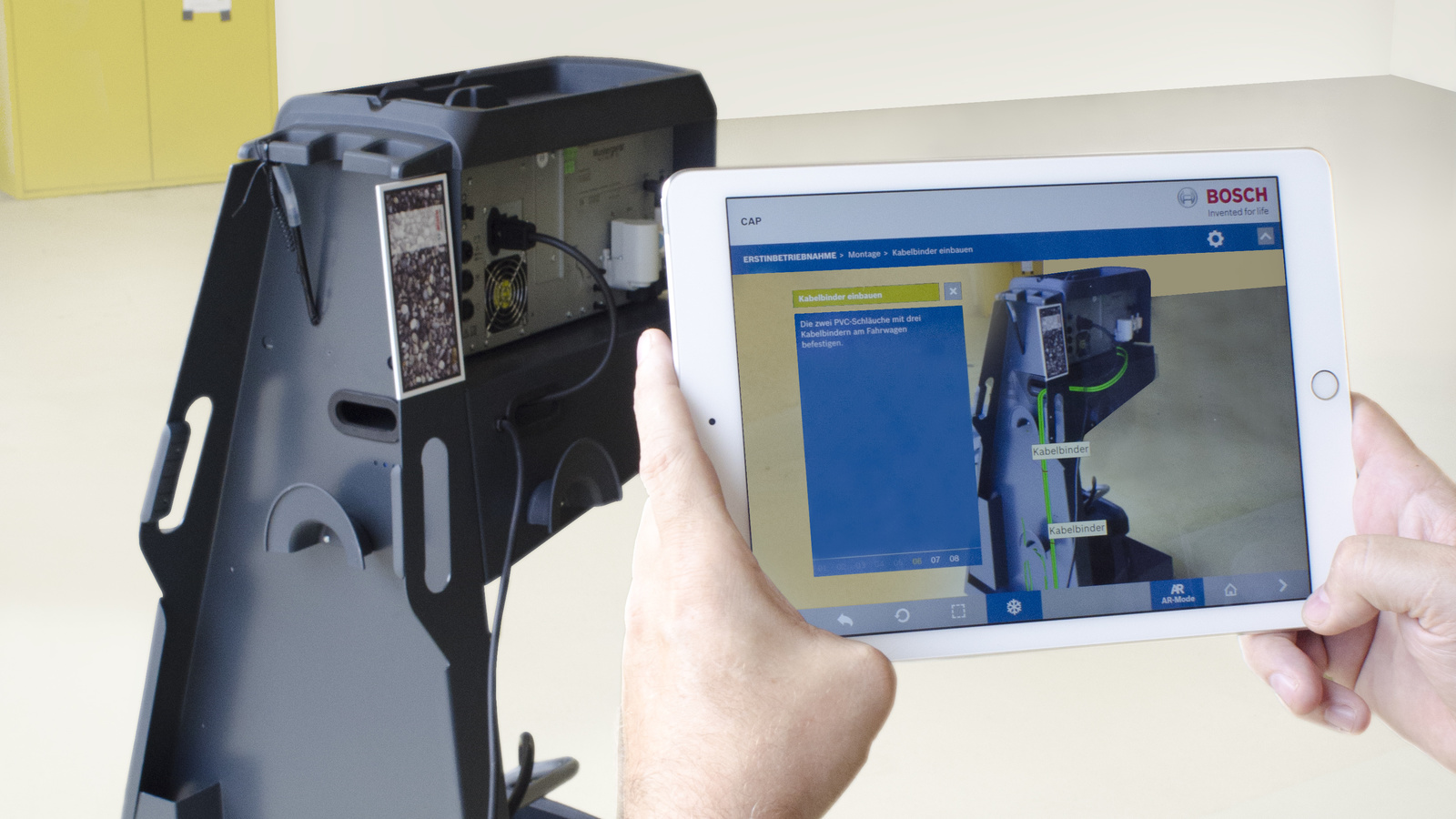 For The First Time Bosch Uses Augmented Reality For The Product