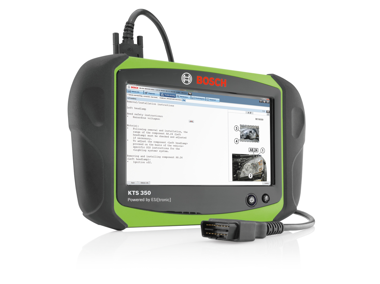 Future-proof with new Ethernet diagnostic interface