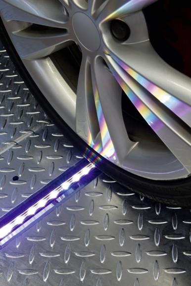 Tire tread measurement EasyTread-System