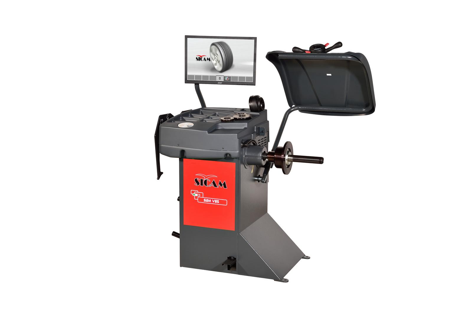 Sicam präsentiert neue ergonomische Reifenmontiergeräte für wirtschaftlichen Service