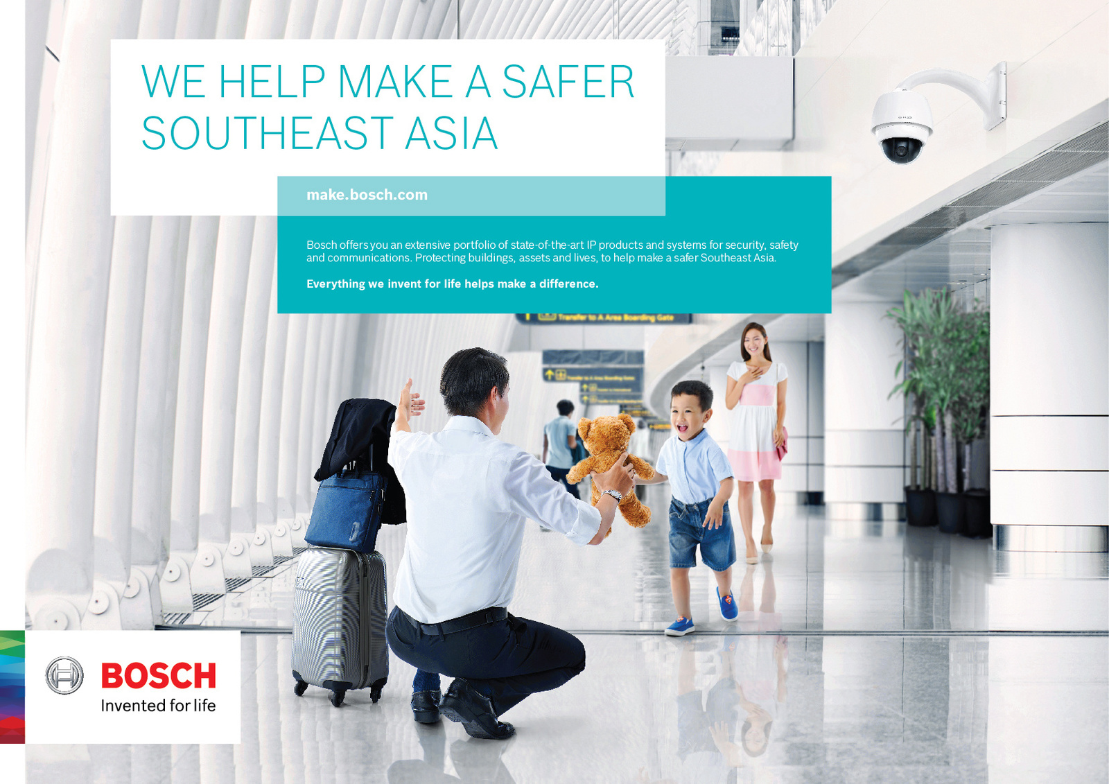 Key-Visual of the branding campaign in Southeast Asia
