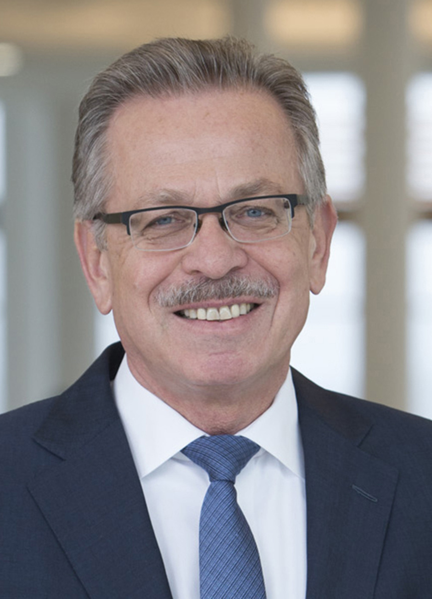 Franz Fehrenbach Vorsitzender des Aufsichtsrats der Robert Bosch GmbH und der Gesellschafterversammlung der Robert Bosch Industrietreuhand KG