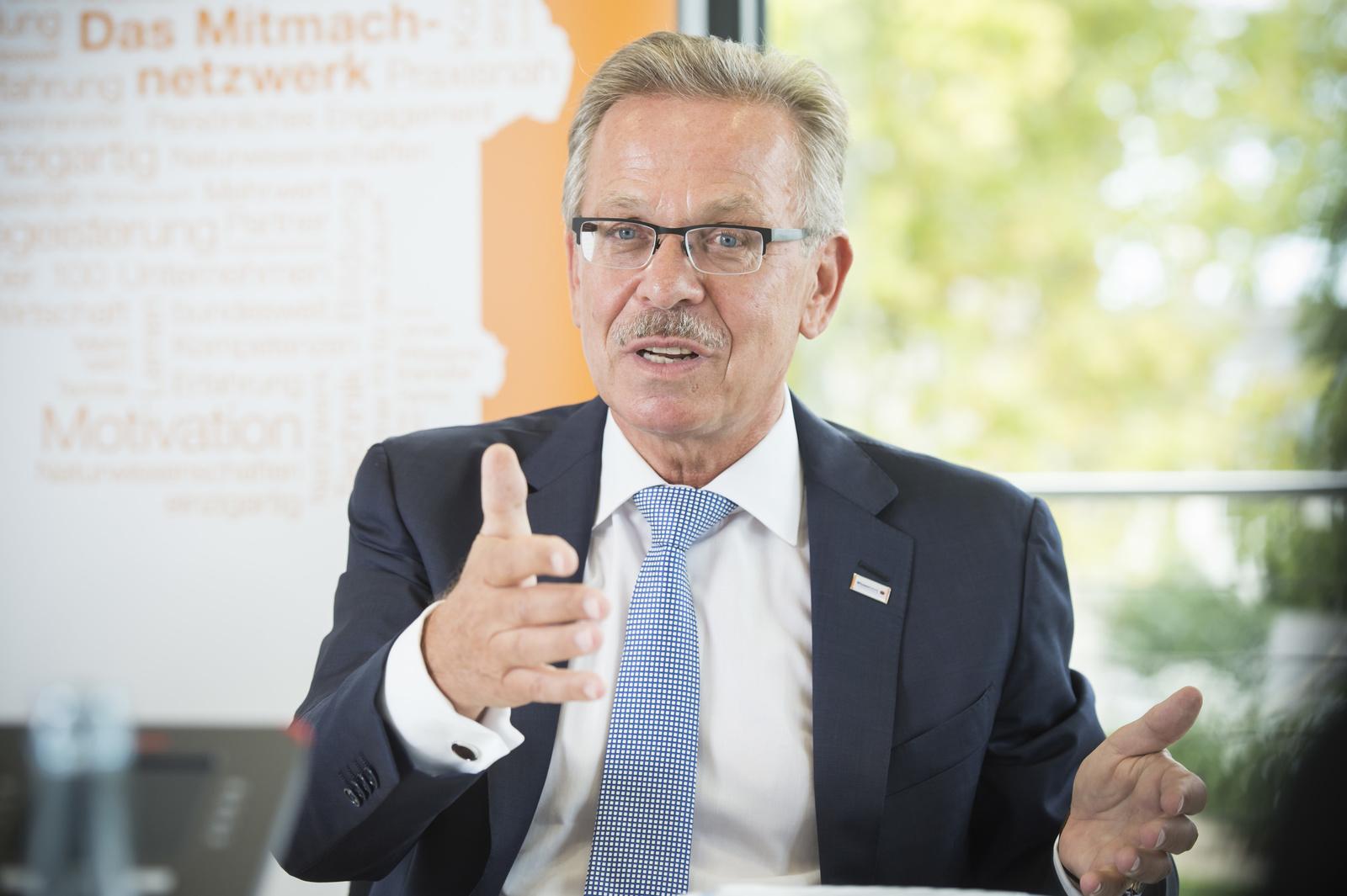 Franz Fehrenbach im Interview (Wissensfabrik)