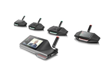 Bosch expands IP based Conference System under the DICENTIS name