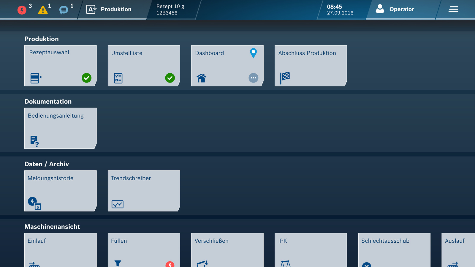 Intuitive Maschinenbedienung mit dem HMI 4.0
