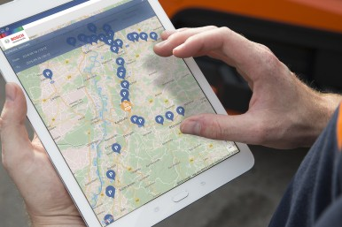 Bosch Secure Truck Parking: The easiest way to find parking quickly