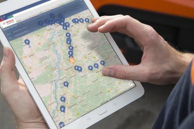 Bosch Secure Truck Parking: Parkplatzsuche leicht gemacht
