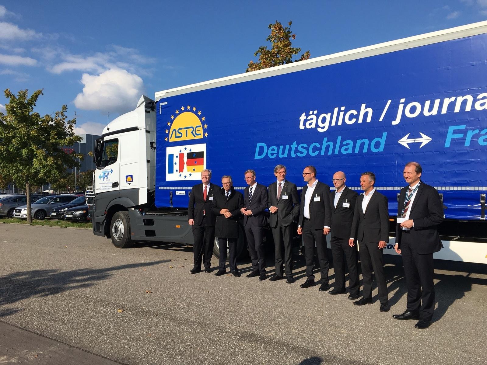 Bosch Secure Truck Parking live Demonstration in Karlsruhe, Germany