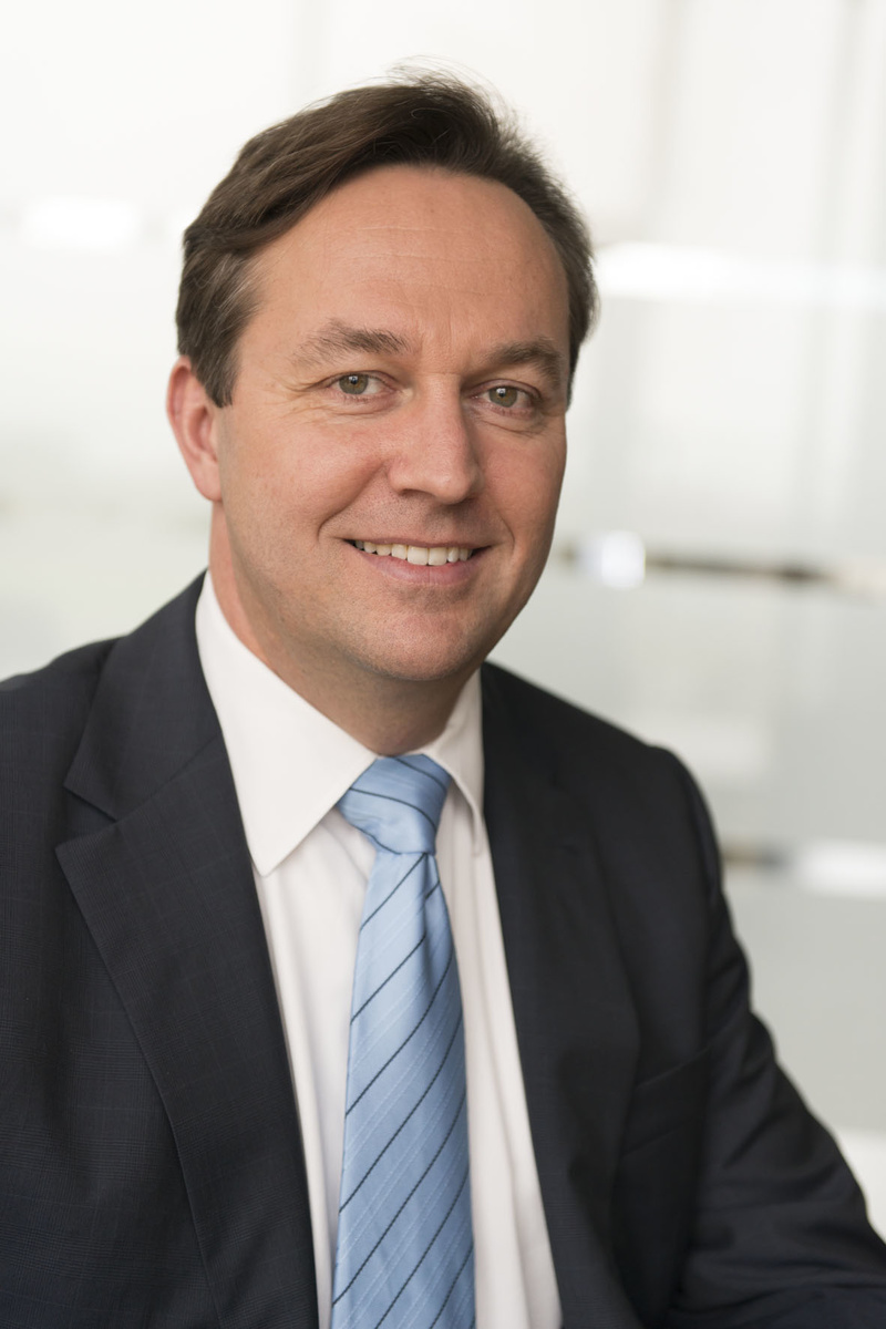 Dr Christian Walti, general manager at the Bosch Packaging Technology site in Beringen, Switzerland.